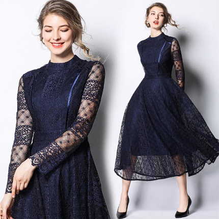 What Color Nails With A Navy Blue Dress Lana Ivanova Photo